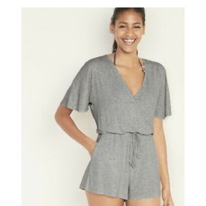 Old Navy Tie-Waist Swim Cover-Up Romper